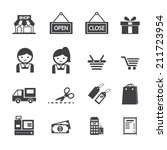 shopping icon | Shutterstock .eps vector #211723954