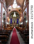 interior of the parroquia san... | Shutterstock . vector #21172750