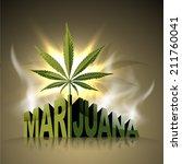 marijuana world   Shutterstock .eps vector #211760041