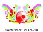 skeleton illustration | Shutterstock .eps vector #21176290
