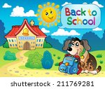 back to school thematic image 5 ... | Shutterstock .eps vector #211769281