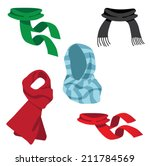 A Collection Of Fun Scarves....