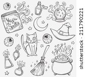 Halloween Witches Attributes...