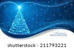 christmas card | Shutterstock .eps vector #211793221