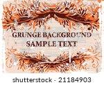 grunge background. vector. | Shutterstock .eps vector #21184903