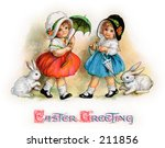 A Vintage Easter Greeting Card...