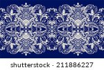 lace background | Shutterstock .eps vector #211886227