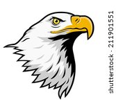 american bald eagle  color... | Shutterstock .eps vector #211901551