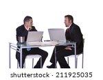 businessmen in an office...   Shutterstock . vector #211925035