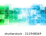 science research as a concept... | Shutterstock . vector #211948069