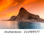 The Rock Of Gibraltar Seen Fro...