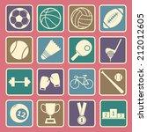 sport icon | Shutterstock .eps vector #212012605