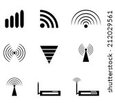 Wireless_icons_set