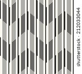 abstract ornate striped... | Shutterstock . vector #212033044