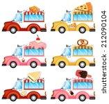 illustration of the vans... | Shutterstock .eps vector #212090104