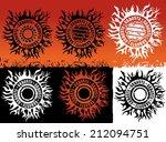 gangsta grungy street urban... | Shutterstock .eps vector #212094751
