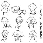 Illustration Of The Babies With ...