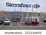 saint lo  france   juli 23  ...   Shutterstock . vector #212116645