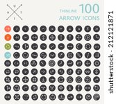 set of arrows  icons for... | Shutterstock .eps vector #212121871