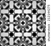 vector celtic seamless pattern  ... | Shutterstock .eps vector #212144275