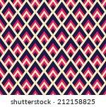 seamless geometric chevron... | Shutterstock .eps vector #212158825