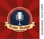 poster design | Shutterstock .eps vector #212171899