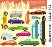 passenger car  transportation... | Shutterstock .eps vector #212184901