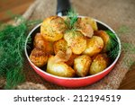 Fried Potatoes With Slices Of...