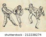 an hand drawn converted vector  ...   Shutterstock .eps vector #212238274
