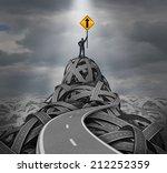 direction leader leadership... | Shutterstock . vector #212252359