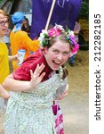 muskogee  ok   may 24  women...   Shutterstock . vector #212282185