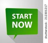 beautiful start web icon | Shutterstock . vector #212301217
