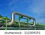 pipeline in industial estate...   Shutterstock . vector #212309251