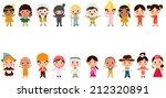 world kids | Shutterstock .eps vector #212320891