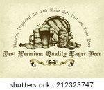 beer background | Shutterstock .eps vector #212323747