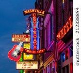Nashville   August 1  Neon...