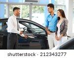 car showroom. vehicle dealer... | Shutterstock . vector #212343277