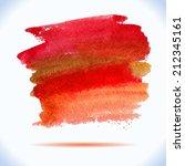 vector  autumn colors... | Shutterstock .eps vector #212345161