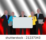 polish business team with...   Shutterstock . vector #21237343