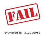 A 'fail' Stamp Vector Over A...