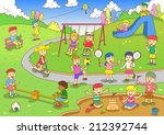playground.eps10 file  simple... | Shutterstock .eps vector #212392744