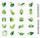 leaves vector | Shutterstock .eps vector #212418517