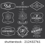 eco and bio energy 2 black | Shutterstock .eps vector #212432761