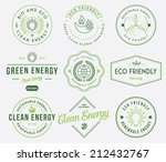 eco and bio energy 1 colored | Shutterstock .eps vector #212432767