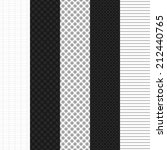 set simple patterns for web... | Shutterstock .eps vector #212440765