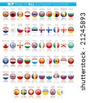 flags of europa | Shutterstock . vector #21245893