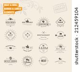 set of badges and labels... | Shutterstock .eps vector #212459104