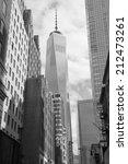 buildings in new york city | Shutterstock . vector #212473261