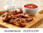 Chicken Wings With Sriracha...