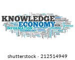 word cloud with knowledge... | Shutterstock . vector #212514949